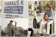 Πάτρα - Μarkus K... μια μουσική έκπληξη στην πλατεία Γεωργίου (video)