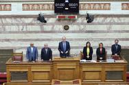 Ενός λεπτού σιγή στη Βουλή για την επέτειο του Πολυτεχνείου