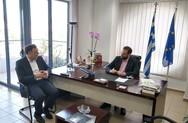 Πάτρα: Ο Γιώργος Διδασκάλου επισκέφθηκε την Περιφέρεια (pics+video)