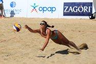 Μαριώτα Αγγελοπούλου - Η 'ιέρεια' της άμμου που επέστρεψε στην Πάτρα για την Παναχαϊκή και το beach volley