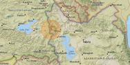 Σεισμική δόνηση 4,9 Ρίχτερ στα σύνορα Τουρκίας και Ιράν