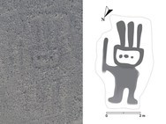 Σύστημα τεχνητής νοημοσύνης ανακάλυψε ένα ανθρωπόμορφο γεωγλυφικό 2.000 ετών