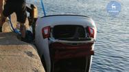 Αυτοκίνητο έπεσε στο λιμάνι της Ρόδου