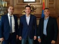 Εθιμοτυπική επίσκεψη του Συλλόγου Εφέδρων Πελοποννήσου στην πρεσβεία της Δημοκρατίας της Σερβίας