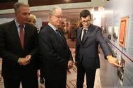 Ο Πρόεδρος της Βουλής εγκαινίασε την έκθεση με θέμα «Βουλή των Ελλήνων - Οι σταθμοί μιας διαδρομής σχεδόν διακοσίων ετών» (φωτο)