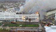 Βρετανία: Μεγάλη πυρκαγιά σε ξενοδοχείο στο Ίστμπουρν (φωτο)