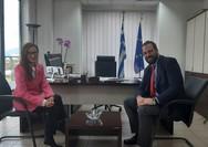 Στον Περιφερειάρχη Δυτικής Ελλάδας η Πρέσβης της Βοσνίας - Ερζεγοβίνης