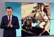 Μοντέλο του Instagram πόζαρε topless με πιστόλια και τη συνέλαβαν για διακίνηση όπλων (video)