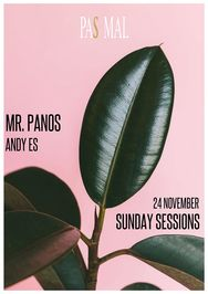 Mr.Panos & Andy Es - Sunday Sessions at Pas Mal