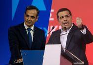 Στις 16,3 μονάδες η διαφορά ΝΔ - ΣΥΡΙΖΑ στην πρόθεση ψήφου