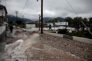 Θάσος - Πλημμύρισαν σπίτια και δρόμοι από το σαρωτικό πέρασμα της κακοκαιρίας (φωτο)