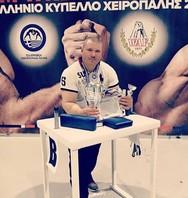 Στιγμές του Αχαιού πρωταθλητή χειροπάλης, Γιώργου Χαραλαμπόπουλου από το 2019 (video)