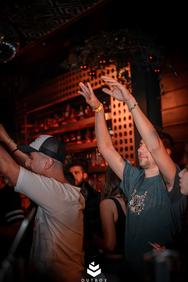 Mikee, Manolaco και Christian Cambas at Disco Room 24-11-19