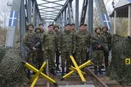 Επίσκεψη Αρχηγού Γενικού Επιτελείου Στρατού σε στρατηγεία της περιοχής ευθύνης του Δ σώματος