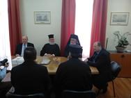 Αιγιάλεια: Ο Δημήτρης Καλογερόπουλος συναντήθηκε με τον Μητροπολίτη Ιερώνυμο