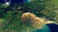Δορυφορική εικόνα της Κινέτας μετά τις πλημμύρες