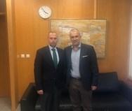 Με τον Γιώργο Καραγιάννη, συναντήθηκε ο Διευθύνων Σύμβουλος του Ο.Λ.ΠΑ.