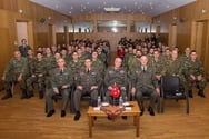 Τελετή απονομής Διακριτών Βαθμού από τον Αρχηγό ΓΕΣ προς τους Νεοπροαχθέντες Εφέδρους