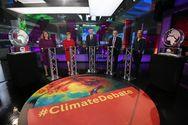 Βρετανία - Κανάλι αντικατέστησε σε ντιμπέιτ τον Τζόνσον με ένα γλυπτό λιωμένου πάγου