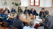 Αχαΐα: Συνεδρίασε το συντονιστικό όργανο πολιτικής προστασίας του Δήμου Ερυμάνθου