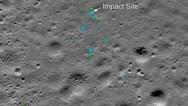Εντοπίστηκαν από τη NASA τα συντρίμμια του ινδικού σκάφους Vikram στη Σελήνη