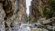 Κρήτη: Πάνω από 130.000 τουρίστες ετησίως επιλέγουν το νησί για το φαράγγι της Σαμαριάς