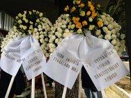 Πάτρα: Θρήνος στην πολιτική κηδεία του Πέτρου Περιμένη