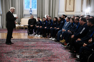Ο Προκόπης Παυλόπουλος υποδέχτηκε στο προεδρικό μέγαρο αθλητές με αναπηρία