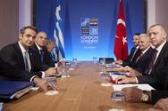 Ολοκληρώθηκε το ραντεβού Μητσοτάκη - Ερντογάν