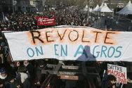 Γαλλία: 180.000 βγήκαν στους δρόμους κατά της μεταρρύθμισης για το συνταξιοδοτικό