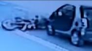 Τροχαίο - σοκ στη Λεωφόρο Λαυρίου (video)