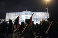 Αθήνα - Ξεκίνησε η πορεία των αντιεξουσιαστών για τη δολοφονία Γρηγορόπουλου