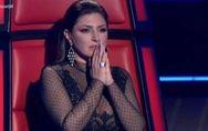 Δάκρυσε η Έλενα Παπαρίζου στο The Voice (video)