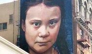 Η Γκρέτα Τούνμπεργκ σε μια γιγαντιαία τοιχογραφία!