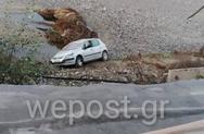 Κατερίνη - Οδηγός αυτοκινήτου έπεσε στον ποταμό Πέλεκα