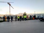 Πάτρα - Καθολική η συμμετοχή στην απεργιακή κινητοποίηση στο εργοτάξιο της ΤΡΑΙΝΟΣΕ (φωτο)
