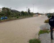 Πλημμύρες στη Ρόδο από την κακοκαιρία