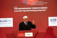 Προκόπης Παυλόπουλος: 'Το δημογραφικό αποτελεί εθνικό ζήτημα για την Ελλάδα'