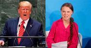 Ο Τραμπ κατά του περιοδικού Time: 'Είναι γελοίο που επιλέξατε την Γκρέτα Τούνμπεργκ'