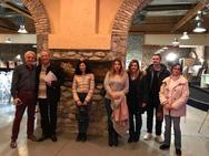 Πάτρα: Επίσκεψη του ΣΔΕ στην έκθεση Πατρινών Καλλιτεχνών (φωτο)
