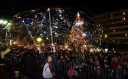 Πάτρα: Η πλατεία Γεωργίου και η Τριών Συμμάχων 'φόρεσαν' τα γιορτινά τους! (φωτο)