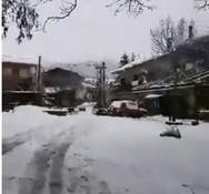 Στα λευκά «ντύθηκε» η Σαμαρίνα Γρεβενών (video)