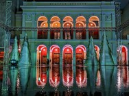 H πλατεία Γεωργίου σε... Χριστουγεννιάτικη version (φωτο)