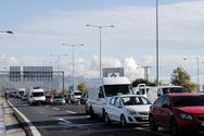Τροχαίο στην Αθηνών - Κορίνθου προκάλεσε ουρές χιλιομέτρων