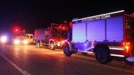 Αχαΐα: Μεγάλη φωτιά σε εργοστάσιο ανακύκλωσης μπαταριών στη ΒΙ.ΠΕ.