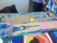 Πάτρα - Έργα των μικρών ζωγράφων από το Εικαστικό Εργαστήρι στον ΝΟΠ (φωτο)