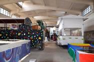 Πάτρα: Μένουν και φέτος στις πρώην αποθήκες του ΑΣΟ τα καρναβαλικά πληρώματα