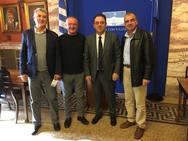 Αιτωλοακαρνανία: Συνάντηση εκπροσώπων της Ομοσπονδίας Μακρύνειων με τον βουλευτή Δ. Κωνσταντόπουλο