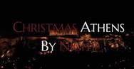 Η νυχτερινή χριστουγεννιάτικα στολισμένη Αθήνα από ψηλά (video)