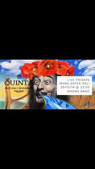 Mona Dates Dali Featuring Magma Band at Quinta Jazz Bar & Restaurant